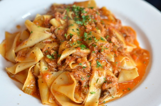 House of Haos Bar Pitti Greenwich Village NYC Pappardelle Rabbit Ragu