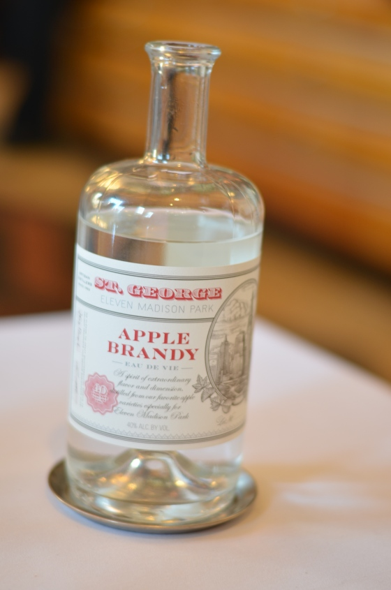 House of Haos Eleven Madison Park Flatiron NYC Tasting Menu Apple Brandy