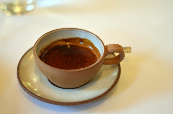 House of Haos Eleven Madison Park Flatiron NYC Tasting Menu Espresso