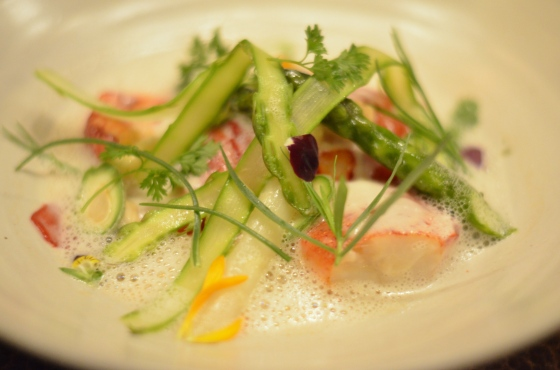 House of Haos Betony Midtown NYC Poached Lobster