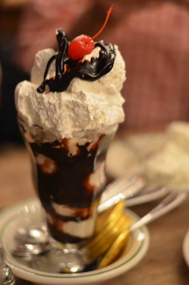 House of Haos Peter Luger Steakhouse Brooklyn NYC Sundae 1