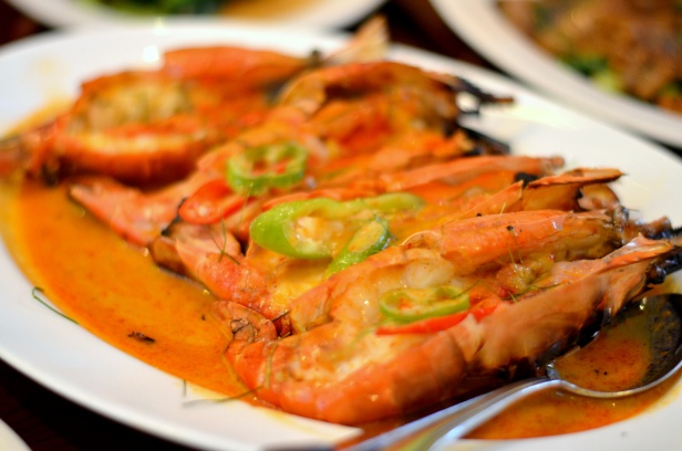House of Haos Ayada Thai Woodside Queens  NYC Grilled Prawns