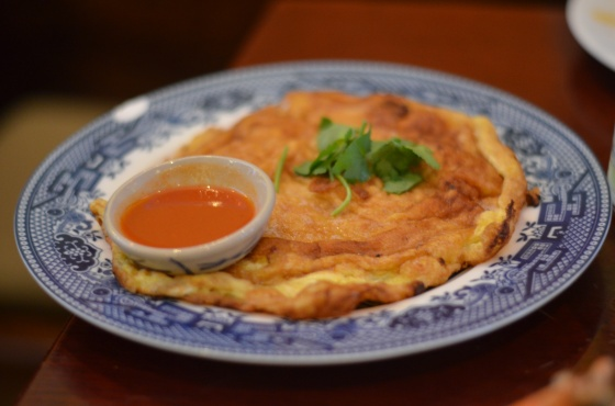 House of Haos Ayada Thai Woodside Queens  NYC Omelette