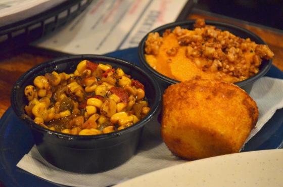 House of Haos Dinosaur BBQ Harlem NYC Corn Sweet Potatoes Cornbread