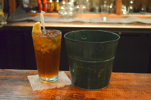 House of Haos Dinosaur BBQ Harlem NYC Sweet Tea
