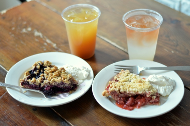 House of Haos Four and Twenty Blackbirds Park Slope Brooklyn NYC Strawberry Pie Blueberry Crumble