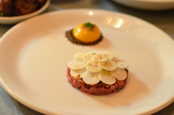 House of Haos Il Buco Alimentari Noho NYC Beef Tartare