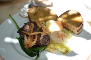 House of Haos Maison Premiere Brunch Williamsburg Brooklyn Steak Eggs