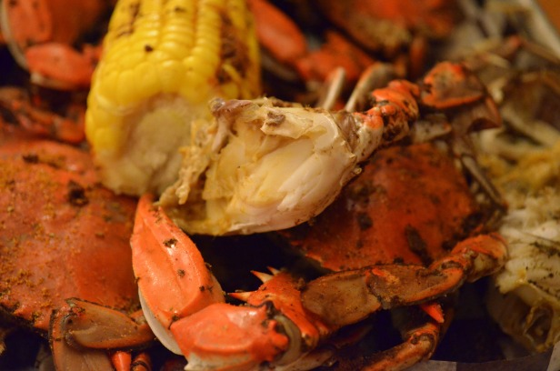 House of Haos Red Hook NYC Brooklyn Crab Blue Crab Corn Old Bay 2