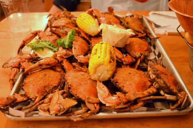 House of Haos Red Hook NYC Brooklyn Crab Blue Crab Corn Old Bay