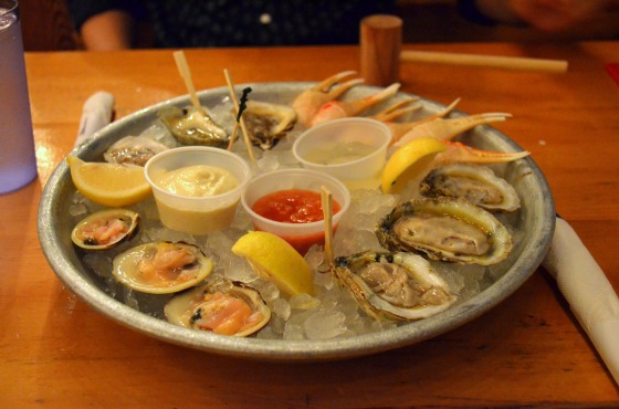 House of Haos Red Hook NYC Brooklyn Crab Oysters Crab Claws