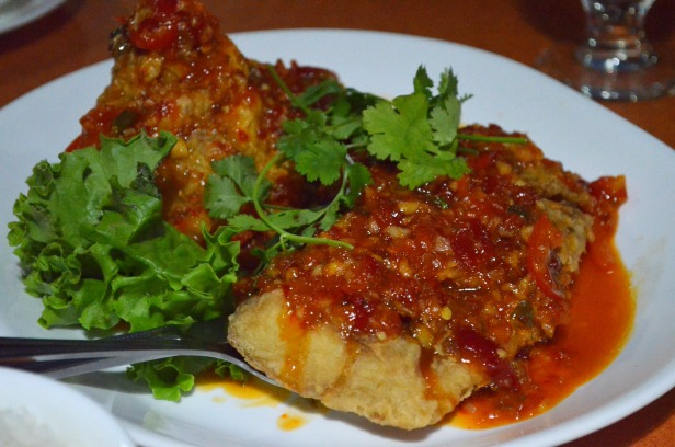 House of Haos SriPraPhai Woodside Queens NYC Fried Snapper Chili Sauce