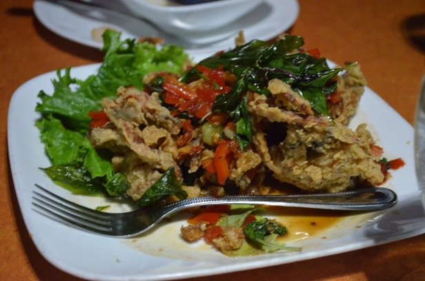 House of Haos SriPraPhai Woodside Queens NYC Soft Shell Crab
