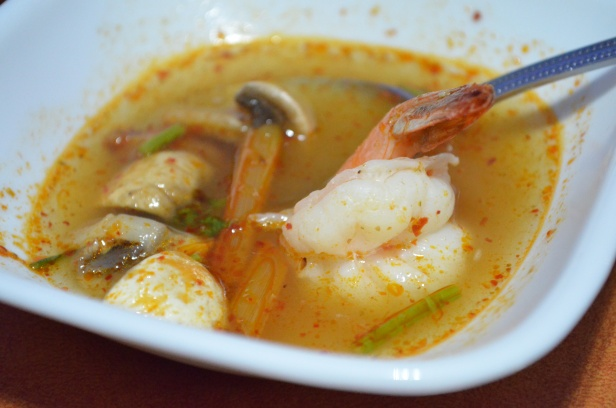 House of Haos SriPraPhai Woodside Queens NYC Tom Yum Soup Shrimp