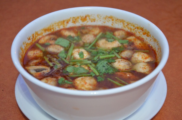 House of Haos SriPraPhai Woodside Queens NYC Tom Yum Soup
