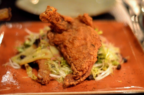 House of Haos The Cecil Harlem NYC Fried Guinea Hen