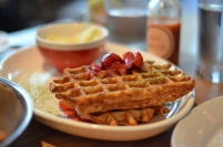 House of Haos The Dutch Soho NYC Matcha Waffles