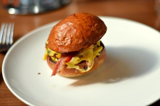 House of Haos Breakfast Sandwich The Elm Williamsburg Brooklyn NYC