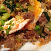 House of Haos Minton's New York Brisket Fried Rice