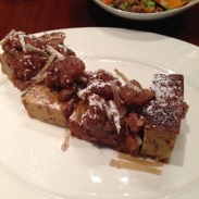 House of Haos Minton's New York Caramelized Banana Candied Ginger French Toast