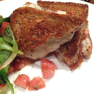 House of Haos Minton's New York Ham and Cheese Sandwich
