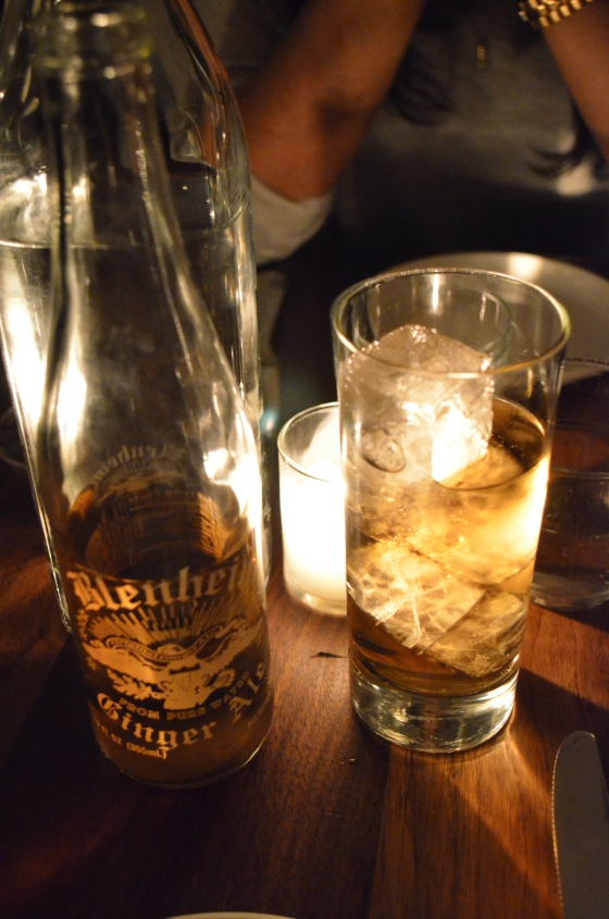 House of Hao's Estela Soho New York NYC Ginger Ale