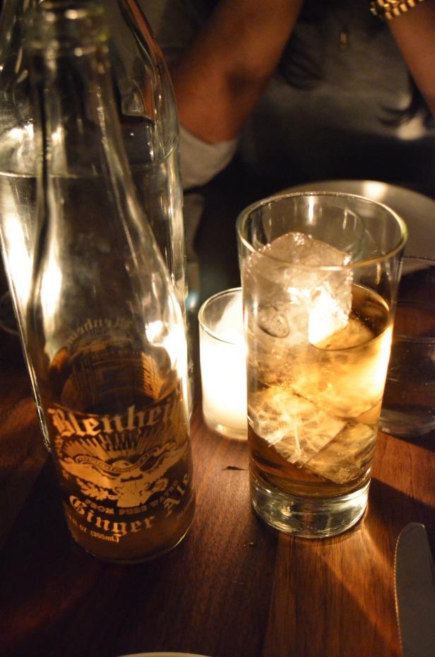 House of Hao's Estela Soho New York NYC Ginger Ale