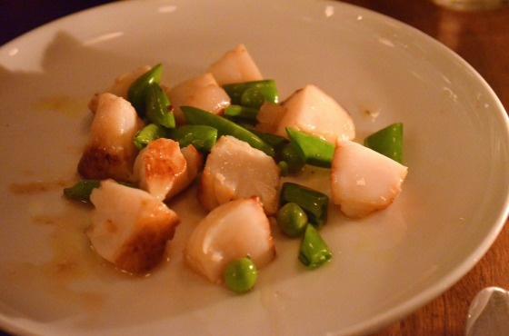 House of Hao's Estela Soho New York NYC Scallops 2