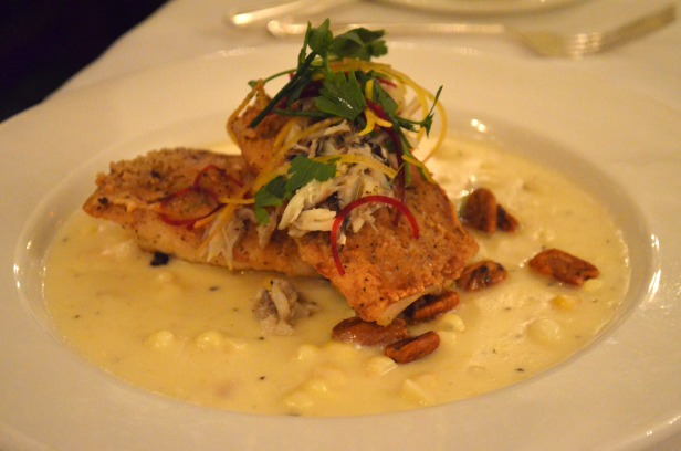 House of Hao's New Orleans Louisiana Commander's Palace Fish Crab Cream Sauce
