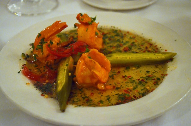 House of Hao's New Orleans Louisiana Commander's Palace Shrimp Pickled Okra Pepper Jelly
