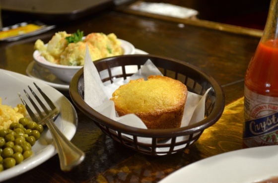House of Hao's Willie Mae's Scotch House New Orleans Louisiana Cornbread