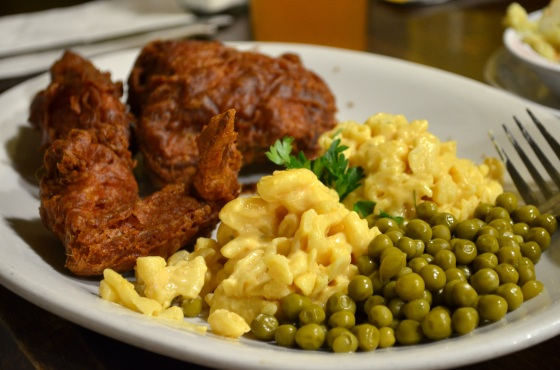 House of Hao's Willie Mae's Scotch House New Orleans Louisiana Fried Chicken Lunch