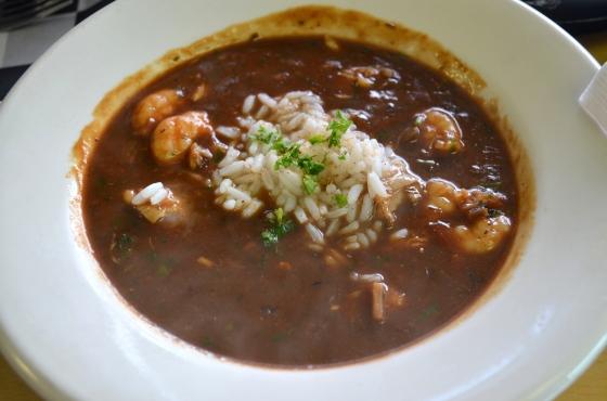 House of Haos Bevi Seafood Company Metarie Louisiana Seafood Gumbo