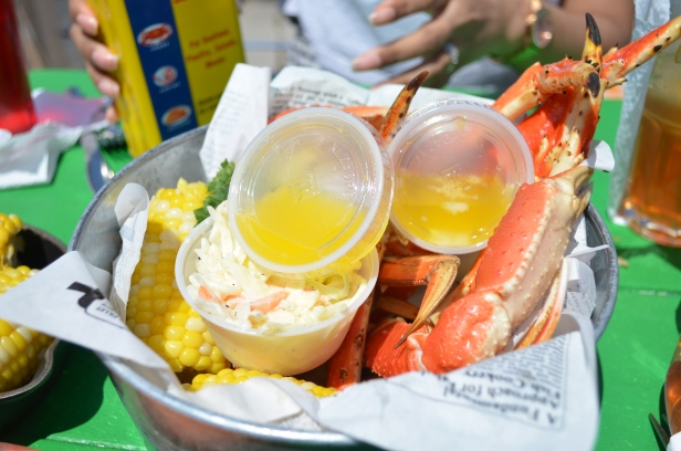 House of Haos Brooklyn Crab Red Hook NYC Crab Legs Butter
