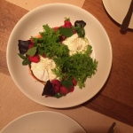 House of Haos Little Park Tribeca NYC Strawberries Burrata