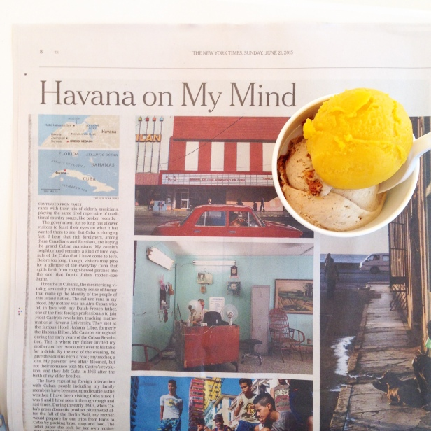 House of Haos Morgensterns NYC Mango Passion Fruit Coffee Crisp NYTimes