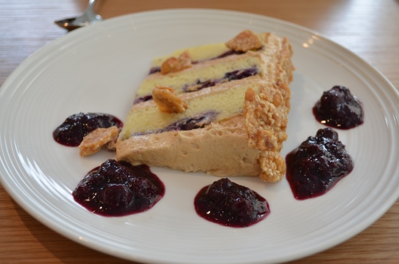 House of Haos Untitled Whitney Meatpacking NYC Berry Peanut Crunch Cake