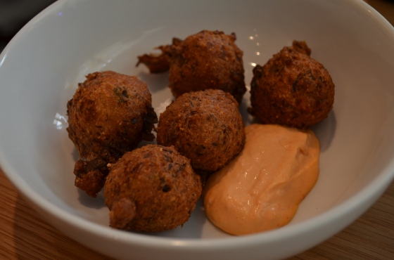 House of Haos Untitled Whitney Meatpacking NYC Crab Fritters