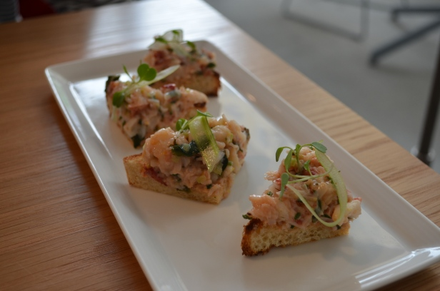 House of Haos Untitled Whitney Meatpacking NYC Lobster Toast