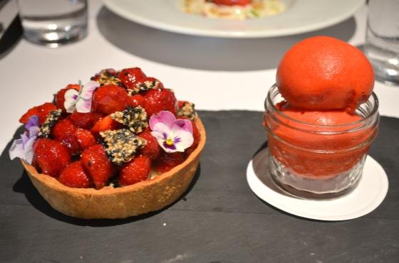 Houseofhaos Gramercy Tavern New York Dessert Strawberry Tart Sesame 2