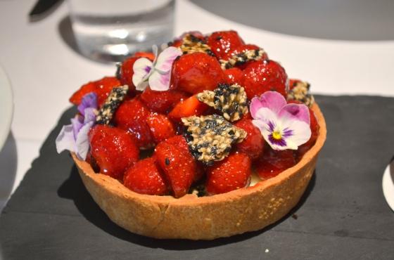 Houseofhaos Gramercy Tavern New York Dessert Strawberry Tart Sesame