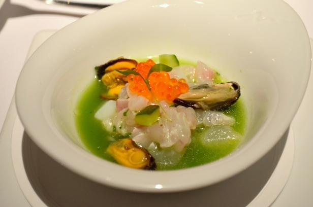 Houseofhaos Gramercy Tavern New York Mussels Ikura