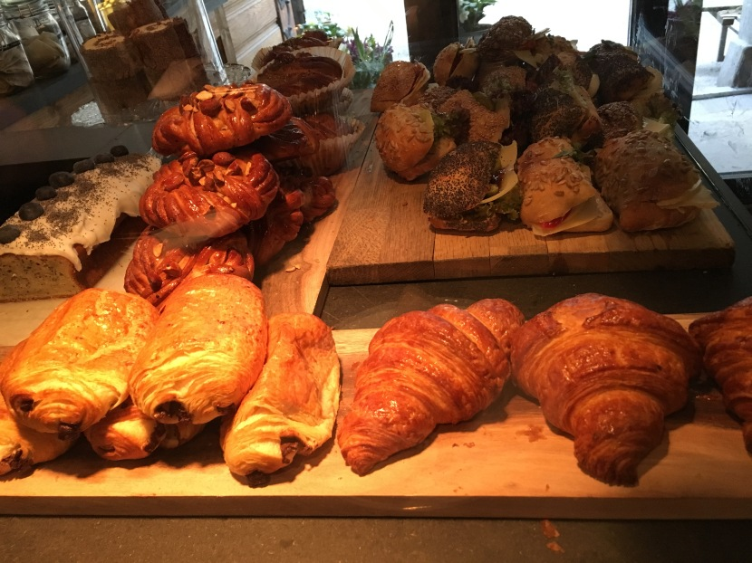 Snickerbacken 7 Cafe Stockholm Sweden Pastries