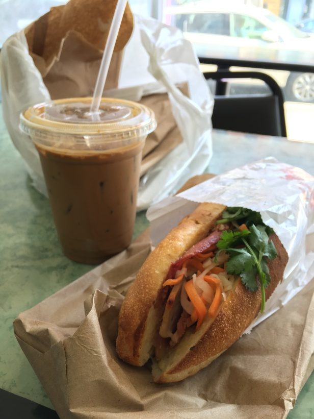 banh mi vietnamese iced coffee ba xuyen sunset park chinatown brooklyn nyc