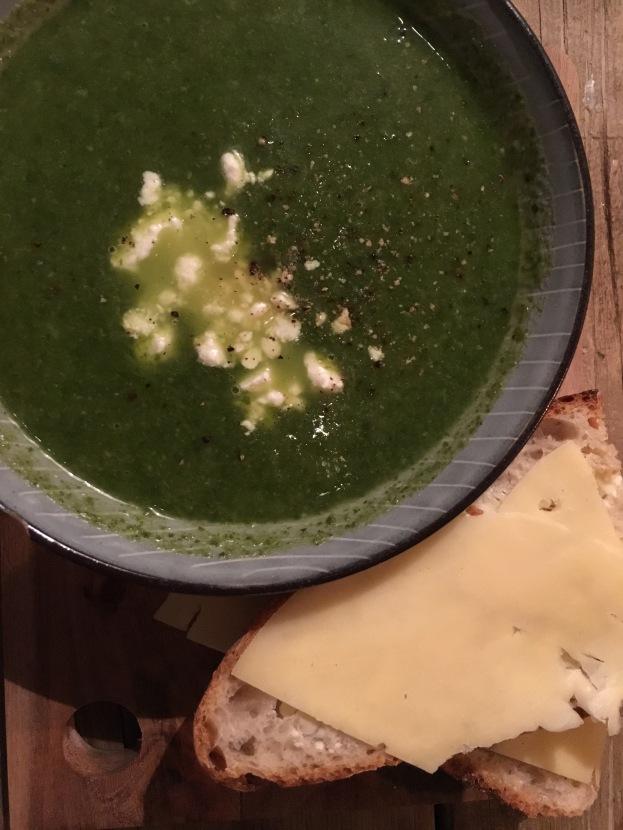 Soup at Snickerbacken 7 Cafe Stockholm Sweden