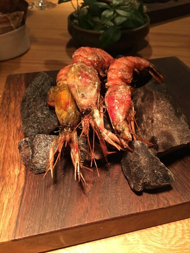 Shrimp at Oaxen Krog