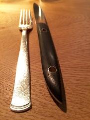 Cutlery at Oaxen Krog Stockholm
