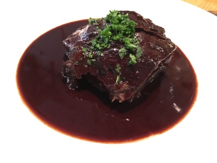 Braised oxtail at Rolfs Kok, Stockholm, Sweden