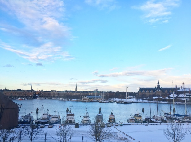 View of Djurgarden from the Museum of Modern Art, Stockholm Sweden