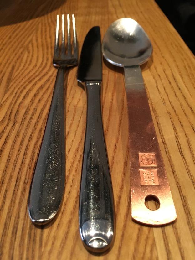 Cutlery, Rolfs Kok, Stockholm, Sweden